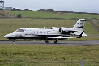 M-INNI Learjet 60 EGNS 31/7/17