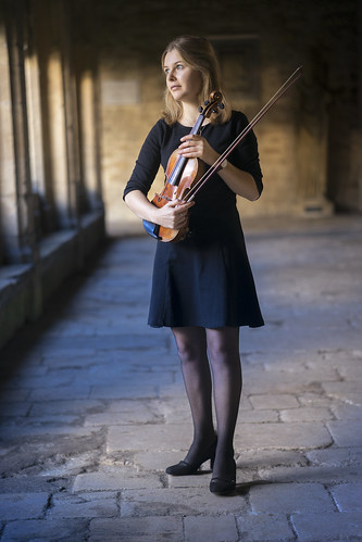 Portrait of an Oxford Violinist