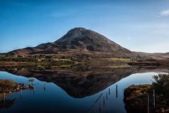 Errigal (Pearse Mac) Tags: errigal donegal ireland wild atlantic way wildatlanticway autumn reflection mountain muckish landscape light sky