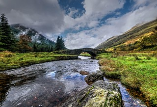 Butter Bridge, Glen Kinglas, Argyll, Scotland