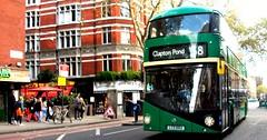 Arriva London LT2 on route 38 Charing Cross road 29/10/17. (Ledlon89) Tags: bus buses london transport tfl londonbus londonbuses londontransport centrallondon transportforlondon