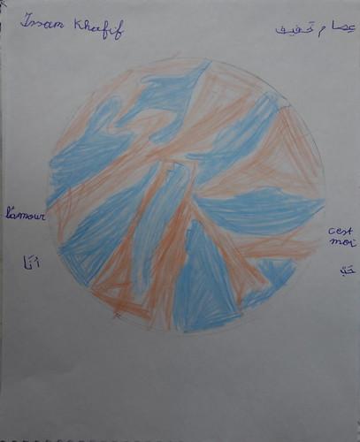 """dessin """"l'oiseau et l'enfant"""" (8)"""