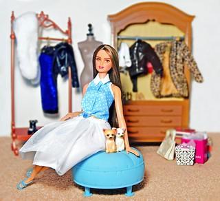 A look inside Kendall's closet.