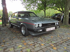 Ford Capri 2.8 Injection Special B204YUH (Andrew 2.8i) Tags: queen queens square bristol breakfast club show meet classic car cars classics avenue drivers vehicle mark 3 mk mk3 sports sportscar hatch hot hatchback coupe v6 cologne special injection 28 capri ford uk unitedkingdom