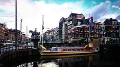Canais de Amesterdão (vmribeiro.net) Tags: amesterdão portugal amsterdam amsterdao canal chanel sony z1 sonyz1