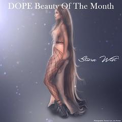 Beauty of the Month. (Jennifer West.) Tags: westside jennifer west dopemagazine