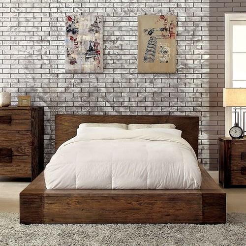 jual tempat tidur minimalis rustic