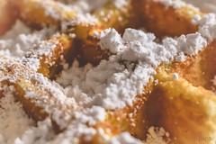 Belgian waffle (*mirt) Tags: closeup waffle belgianwaffle food macromondays sugar memberschoicefoundinthekitchen