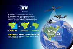 02 - Dimensão 22 - Controlar, defender, integrar. (Força Aérea Brasileira - Página Oficial) Tags: fab forcaaereabrasileira aeronautica dimensao 22 missao forçaaéreabrasileira brasil brazil brazilianairforce controlar defender integrar campanha