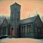 Syracuse New York - Oakwood Cemetery -  Abandoned  Chapel thumbnail