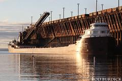 keb10417ldsrise3_rb (rburdick27) Tags: kayeebarker interlakesteamshipcompany marquette oredock lakesuperior sunrise