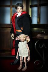 Harry and Dobby (wizgerg3) Tags: starace harrypotter harry dobby