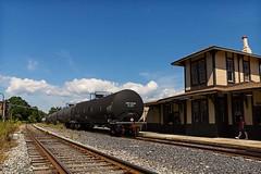 Gettysburg Lincoln Railroad Station (TwinCitiesSeen) Tags: gettysburg pennsylvania train adamscounty people canon6d tamron2875mm