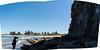 resting rocks (dustaway) Tags: cliffs shadows coast silhouette beach monavale thebasin sydney nsw australia shorescape spring