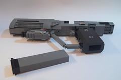 Lego Halo 3 ODST Magnum: Overview ({Jim.Kromastus}) Tags: halo halo3 halo3odst odst lego pistol magnum socom