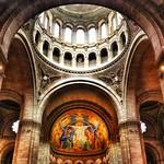 Paris France ~ Sacré-Cœur Basilica ~ Historic Monument Interior thumbnail