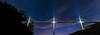 Under the bridge (benitoorion) Tags: occitanie france fr millau viaducdemillau bridge midipyrénées astronomy astrophotography solarsystem nuit landscape countryside panorama light architecture autoroute a75