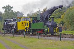 -FOXFIELD RAILWAY 24092017 (ROPERUNNER) Tags: foxfield cranetank beyerpeacock rsh70631942 belerpophen whinston hunslet foxfieldcolliery dubs thomashill diesel locomotive