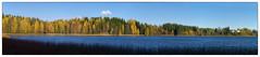 51 megapiksler (Krogen) Tags: norge norway norwegen akershus romerike ullensaker nordbytjernet landscape landskap høst autumn krogen olympuse400 imagecompositeeditor panorama