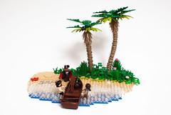 island_01 (Mark van der Maarel) Tags: minifgures lego afol moc vignette pirates