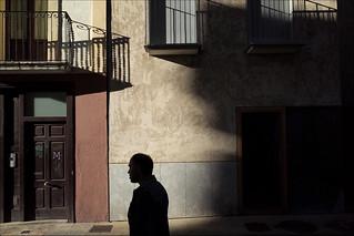 Shadows.  ( Pamplona )
