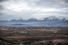 Valley City (aaron.beitzel) Tags: mountain mountains snow snowcap city cityscape town cloud cloudy storm nature landscape kurdistan iraq middleeast asia canon 50mm 5d valley travel