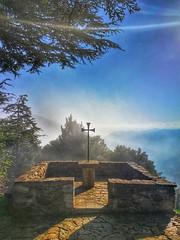 After the fog comes the sun..☀️ (carlesbaeza) Tags: fog niebla boira sun sol cruz catalunya catalonia travel ngc