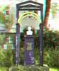 Dorotheenstädtisch-Friedrichswerderscher Friedhof an der Chausseestraße, Berlin (rolfmarquardt) Tags: anaglyph 3d stereo rotgrün redcyan berlin
