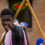 "<b>Homecoming Parade</b><br/> Nana Apeatu from Ghana (ISAA) celebrated the diversity at Luther College by walking the homecoming 2017 parade. October 7 2017. Photo by Hasan Essam Muhammad<a href=""http://farm5.static.flickr.com/4481/37724118812_42336e2d71_o.jpg"" title=""High res"">∝</a>"