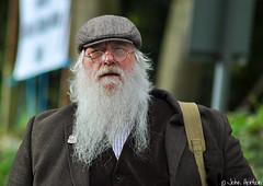 NYMR 1940's Weekend (2017) 006 - ARP (Row 17) Tags: uk unitedkingdom gb greatbritain britain england yorkshire northyorkmoorsrailway 1940s beard people man men reenactment reenactor reenactors