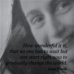 Anne Frank (France-♥) Tags: annefrank museum musée amsterdam fille girl writer photo quote citation history