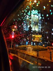 When raindrops and lights meet.. (Photogioco) Tags: romania bucharest bucuresti night rain lights luci pioggia notte street atmosphera impressions photo fotografia