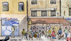La France des sous-préfectures, 81 (chando*) Tags: aquarelle watercolor croquis sketch france exploredoct192017107