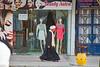 Tradition and Modernity (.hd.) Tags: contrast caftan hurghada egypt beauty salon man turban street arabic tradition streetvendors streetsellers modernity scarf sherrystreet hurghada2017 addahar