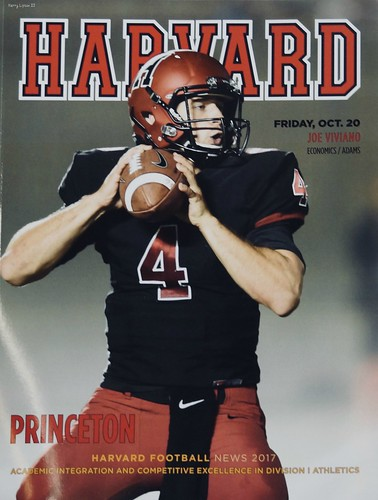 "Harvard v Princeton Football Program • <a style=""font-size:0.8em;"" href=""http://www.flickr.com/photos/52364684@N03/37819428411/"" target=""_blank"">View on Flickr</a>"