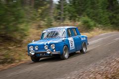 XX Peurunkaralli (Samu Ekman) Tags: peurunkaralli 2017 car rally rallying rallye racing ralli motorsport d500 nikon finland valkola ari koskinen anni kalenius renault 8 gordini
