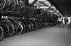 * (Johuhe) Tags: bikes bycicles parking leiden holland netherlands medium format 6x9 agfa record iii tmax 400 semi standdevelopment rodinal r09 film analog black white monochrome epson v500