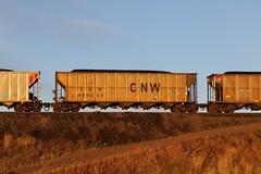 3G2A7470 (kschmidt626) Tags: powder river coal train wyoming bnsf union pacific sunset sunrise tier 4