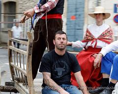Farmers' Parade St Remy 30th Sept. 2017 (doublejeopardy) Tags: stremy france parde farmers family trailer horse procession saintrémydeprovence provencealpescôtedazur fr