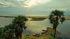 Into the mystic (sakthi vinodhini) Tags: boat water sea ocean fishing fishermen palm tree sunrise early morning serene alamparai fort india tramilnadu incredible