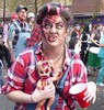 Zombie Parade (jacquemart) Tags: gloucester 2017 zombieparade zombiewalk halloween witch magic