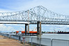 Crescent city bridge (*~Dharmainfrisco~*) Tags: dharma dharminfrisco crescent city bridge waterfront mississippi river south usa america summer nola louisiana