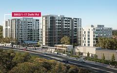 B802/1-17 Delhi Road, North Ryde NSW