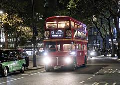 Nightbus (Rico Shay) Tags: routemaster bus londontransport london lovephotography afterdark 15 londonbus tfl