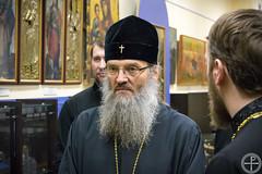 Минскую духовную академию посетил митрополит Запорожский и Мелитопольский Лука