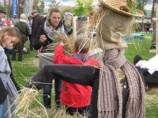 Constructing the scarecrow