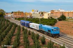 319-335 OGI (ɢ. ʙᴇʀᴇɴɢᴜᴇʀ [ ō-]) Tags: 319335 ogi tracciónrail adif railroad railway ffcc 319 azvi eje