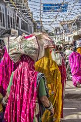 Pilgrims (bag_lady) Tags: pilgrims 2016camelfair pushkar rajasthan india baribasti hindu hinduism devotion worship religion