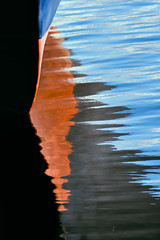 Peering over the Pier (Rob J Dart) Tags: johnterp oldtownalexandria alexandriava pier reflections abstract impressionism nikkor180mmf28d