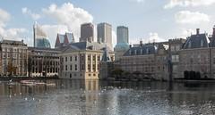 Old and new (Peter Branger) Tags: activeassignmentweekly architecture thehague cityscape city senate hofvijver netherlands bestofweek1 bestofweek2 bestofweek3 bestofweek4 bestofweek5